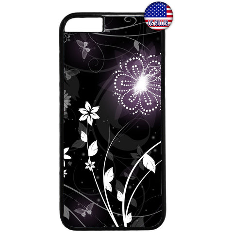 Stylish Floral Flower Rubber Case Cover For Iphone