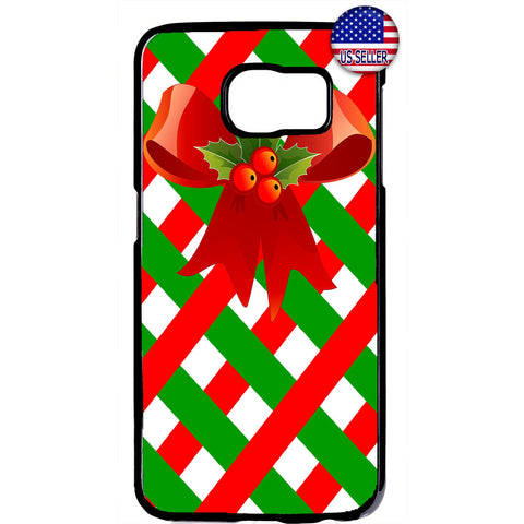 Merry Christmas Gift Wrap Xmas Rubber Case Cover For Samsung Galaxy
