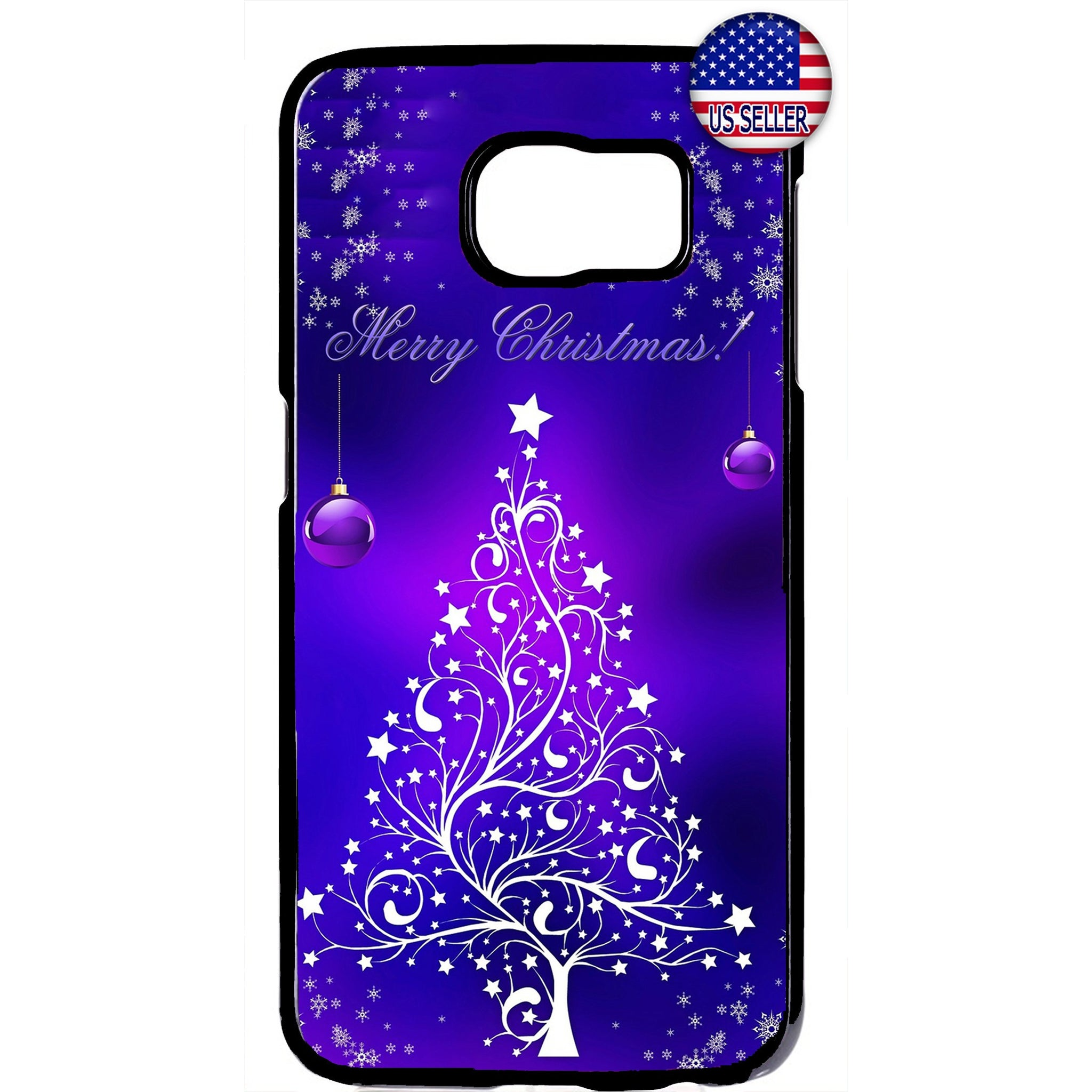 Merry Christmas Tree Rubber Case Cover For Samsung Galaxy Note