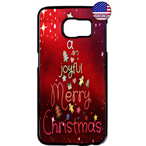 A Joyful Merry Christmas Rubber Case Cover For Samsung Galaxy
