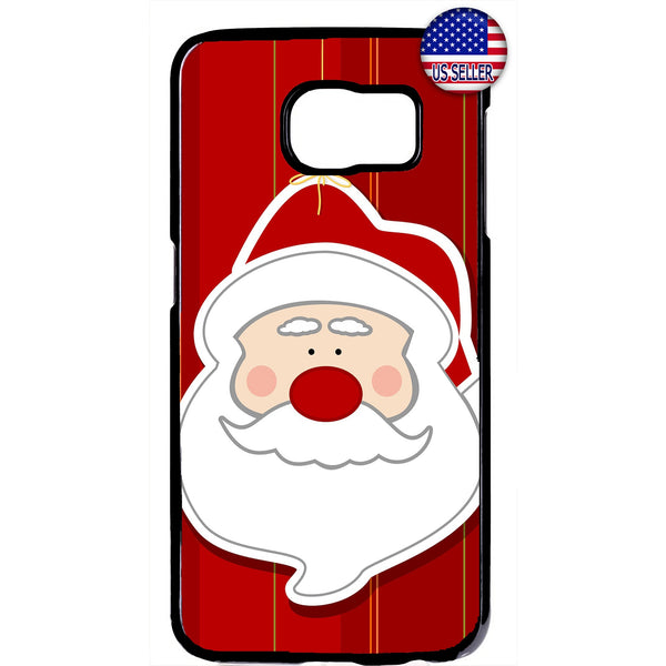 Santa Clause Merry Christmas Rubber Case Cover For Samsung Galaxy