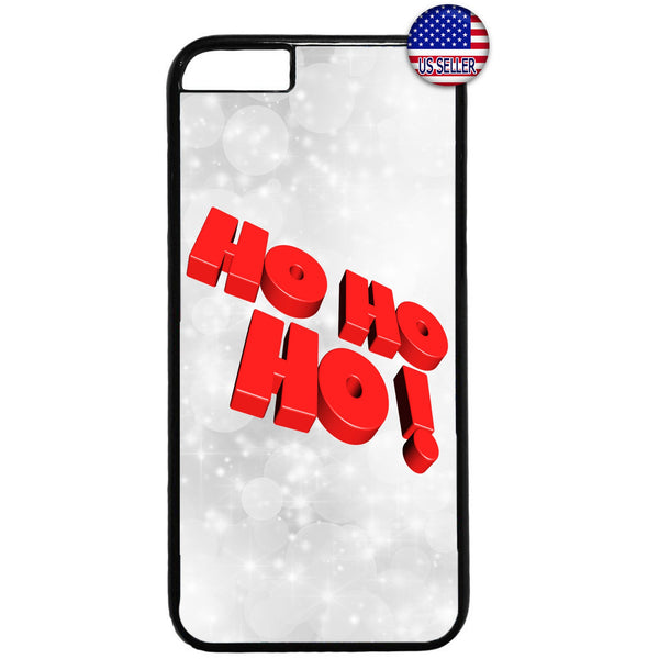 HO HO HO! Santa Clause Rubber Case Cover For Iphone