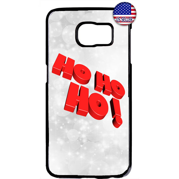 HO HO HO! Santa Clause Rubber Case Cover For Samsung Galaxy