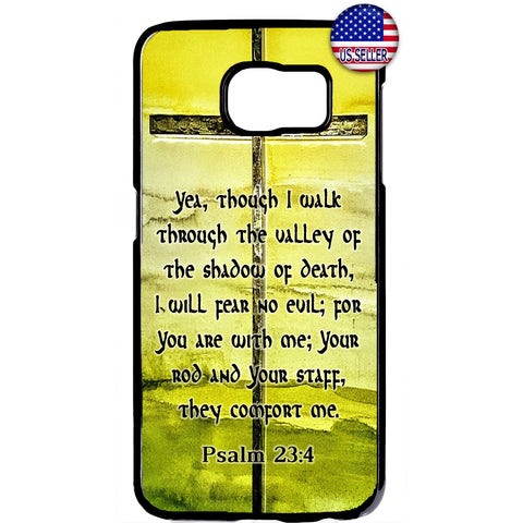 Christian Bible Valley of Death Cross Rubber Case Cover For Samsung Galaxy Note
