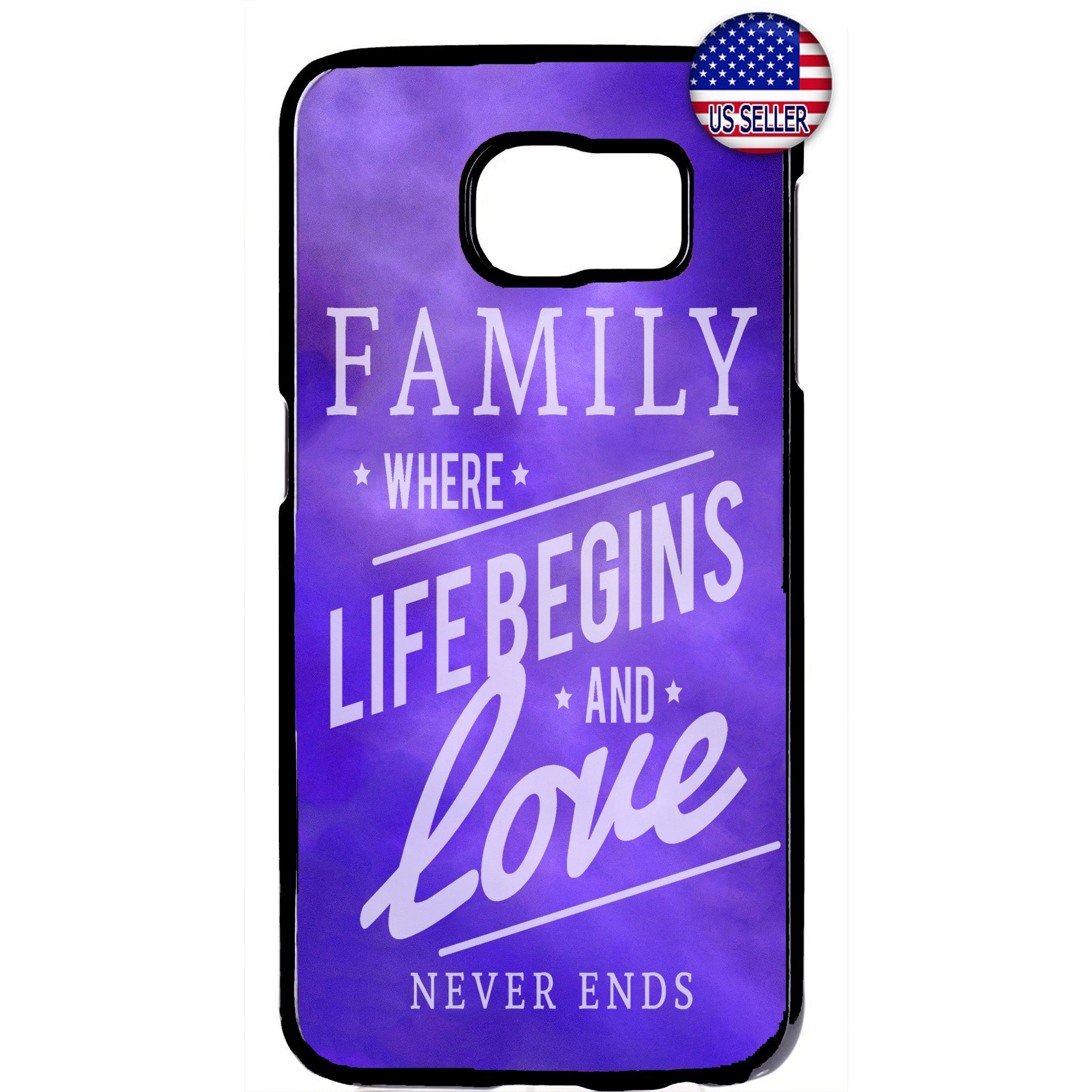Family & Love Live Begins Rubber Case Cover For Samsung Galaxy Note