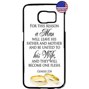 Marry Wedding Bride Rings Rubber Case Cover For Samsung Galaxy Note