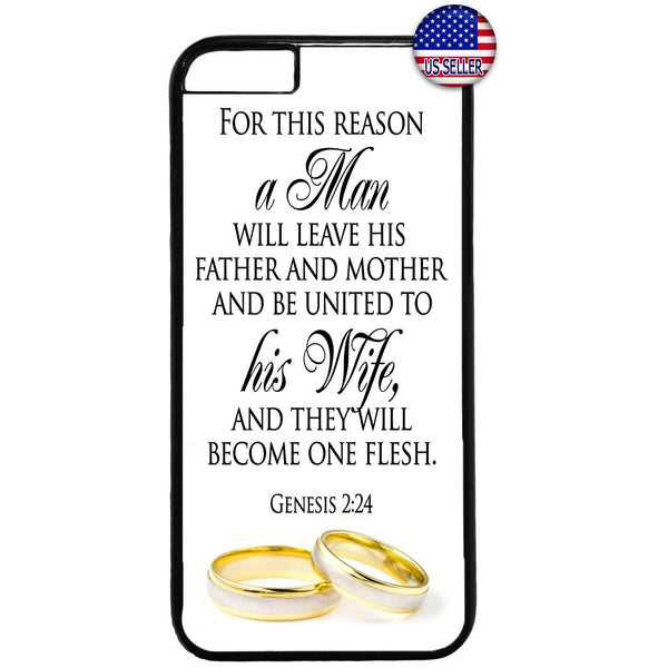 Marry Wedding Bride Rings Rubber Case Cover For Iphone