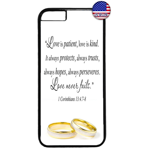 Husband & Wife Marry Rings Rubber Case Cover For Iphone