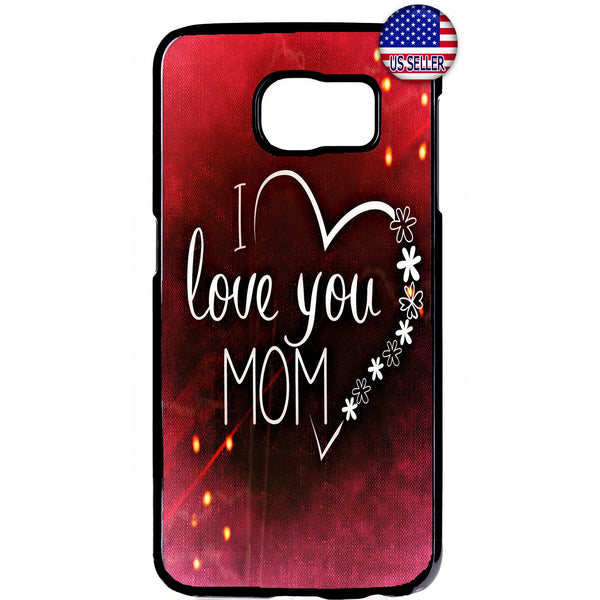 I Love You Mom Mother Rubber Case Cover For Samsung Galaxy Note
