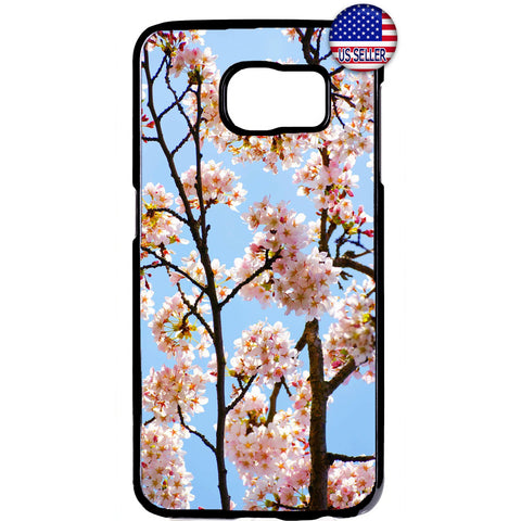 Floral Cherry Blossom Rubber Case Cover For Samsung Galaxy Note