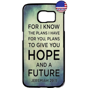Hope Future Christian Bible Verse Rubber Case Cover For Samsung Galaxy Note
