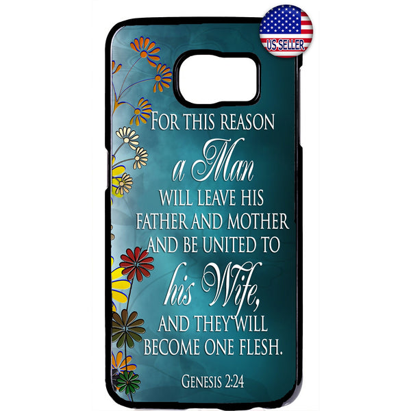 Husband & Wife One Flesh Rubber Case Cover For Samsung Galaxy