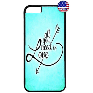 All You Need Is Love Rubber Case Cover For Iphone