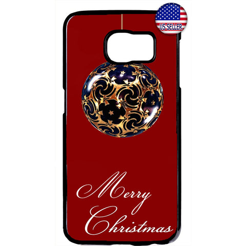 Christmas Gift Ornament Rubber Case Cover For Samsung Galaxy