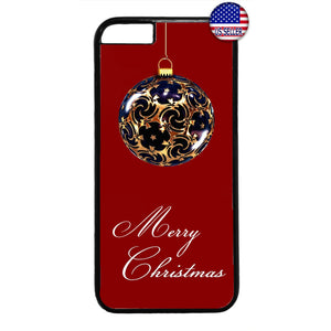Christmas Gift Ornament Rubber Case Cover For Iphone