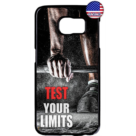 Test Your Limits Workout Rubber Case Cover For Samsung Galaxy Note
