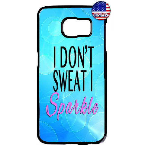 I Sparkle Gym Workout Rubber Case Cover For Samsung Galaxy