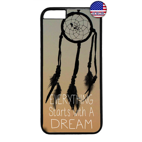 Stars With a Dream Dreamcatcher Rubber Case Cover For Iphone