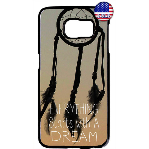 Stars With a Dream Dreamcatcher Rubber Case Cover For Samsung Galaxy