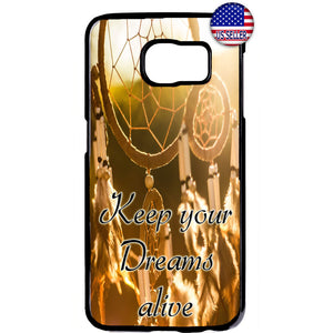Keep your Dream Alive Dreamcatcher Rubber Case Cover For Samsung Galaxy