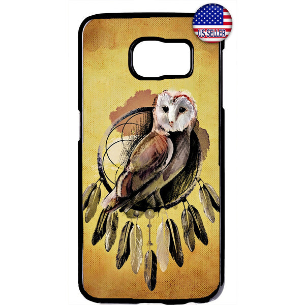 Night Owl Dreamcatcher Rubber Case Cover For Samsung Galaxy