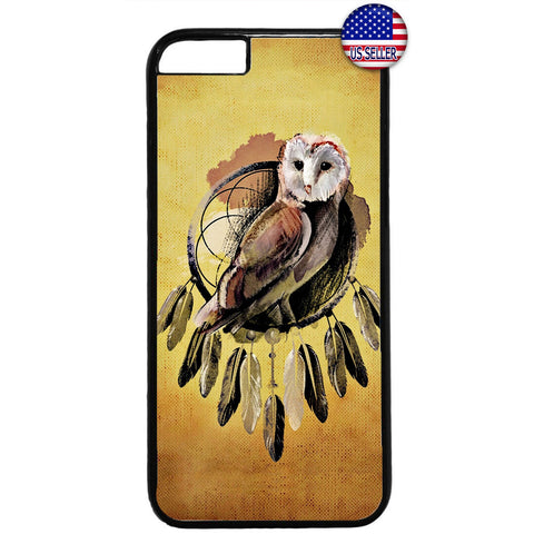 Night Owl Dreamcatcher Rubber Case Cover For Iphone