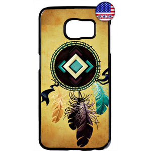 Native Dreamcatcher Rubber Case Cover For Samsung Galaxy