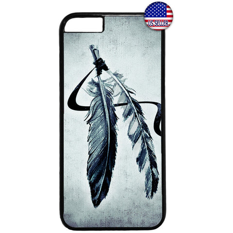 Indian Feathers Dreamcatcher Rubber Case Cover For Iphone