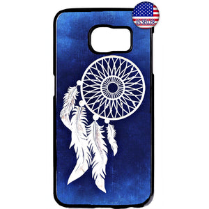 Dreamcatcher Amulet Indian Rubber Case Cover For Samsung Galaxy