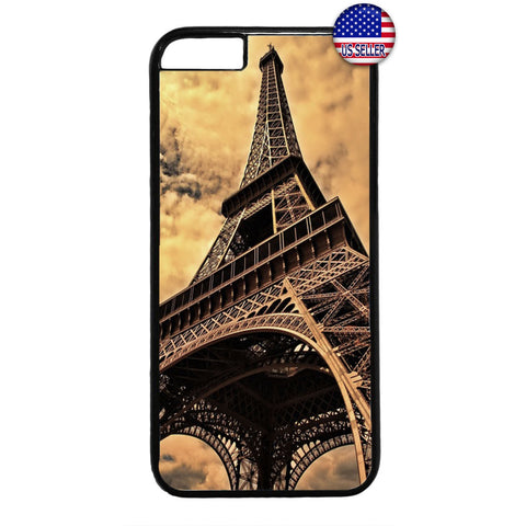 Paris France Eiffel Tower French Rubber Case Cover For Iphone
