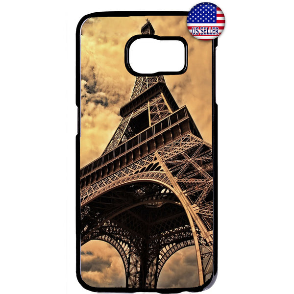 Paris France Eiffel Tower French Rubber Case Cover For Samsung Galaxy
