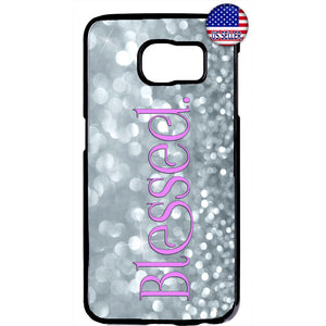 Blessed Shine Diamonds Rubber Case Cover For Samsung Galaxy