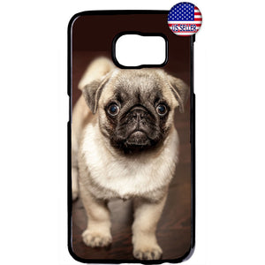 Cute Puppy Pug Pet Dog Animal Rubber Case Cover For Samsung Galaxy