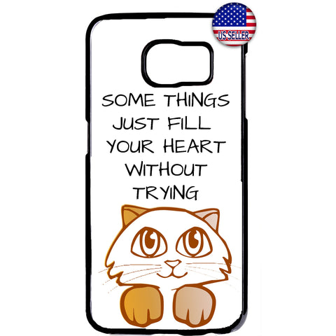 Cute Kitten Cat Pet Paws Animal Rubber Case Cover For Samsung Galaxy