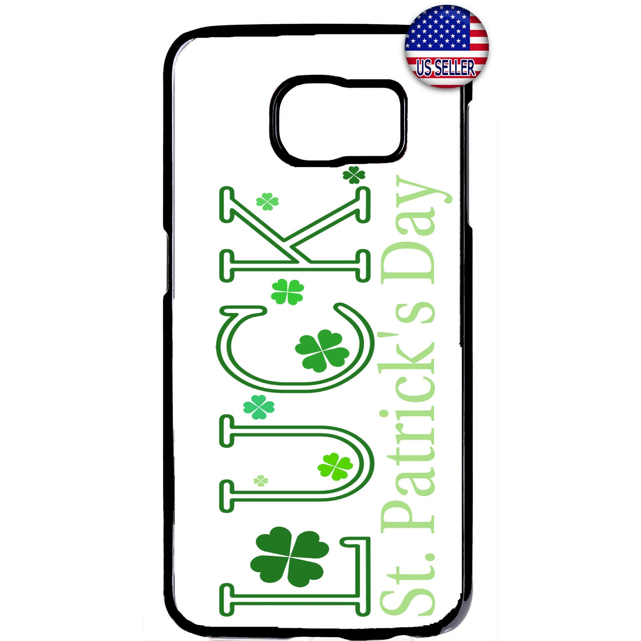 ST Patrick's Day Luck Irish Rubber Case Cover For Samsung Galaxy