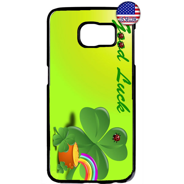 St. Patrick's Day Good Luck Gold Pot Irish Rubber Case Cover For Samsung Galaxy