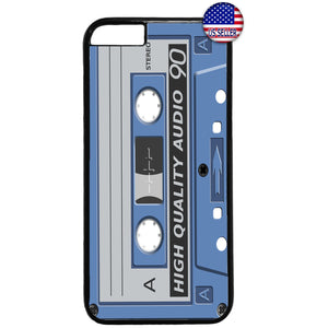 Cassette Audio Old School Rubber Case Cover For Iphone