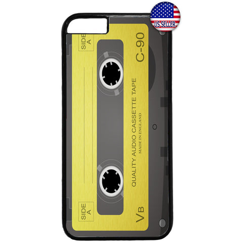 Old School Cassette Audio Rubber Case Cover For Iphone