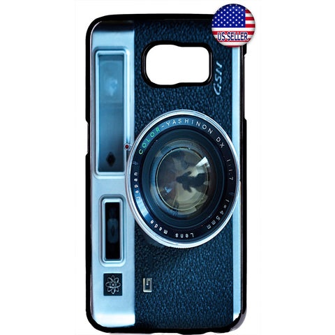 Vintage Retro Camera Rubber Case Cover For Samsung Galaxy