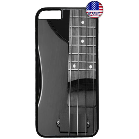 Gray Electric Guitar Rubber Case Cover For Iphone