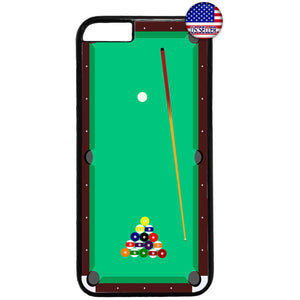 Billiard Pool Table App Rubber Case Cover For Iphone
