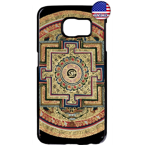 Spiritual Hindu Symbol Rubber Case Cover For Samsung Galaxy