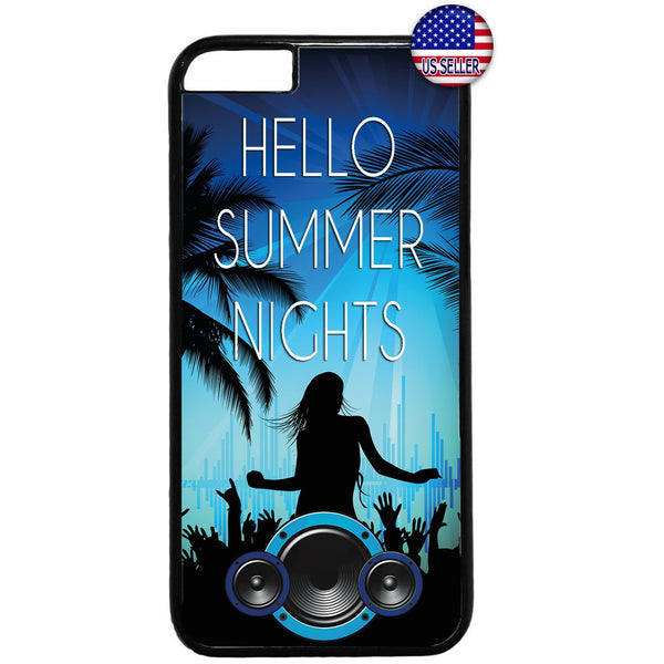 Summer Beach Party Rubber Case Cover For Iphone