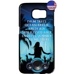 Summer Beach Party Rubber Case Cover For Samsung Galaxy