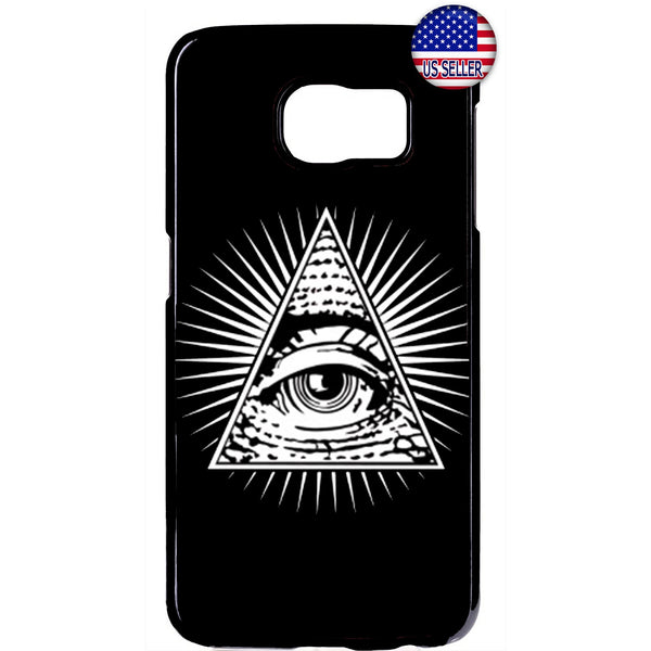 Mason Eye Illuminati Rubber Case Cover For Samsung Galaxy