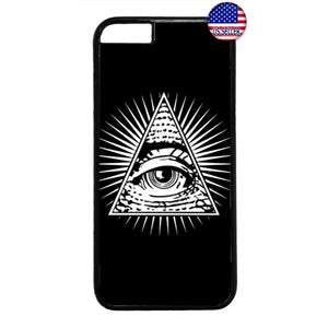 Mason Eye Illuminati Rubber Case Cover For Iphone