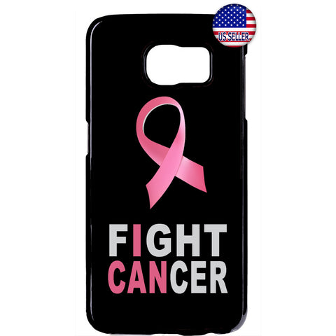 Fight Cancer Pink Ribbon Breast Cancer Awareness Rubber Case Cover For Samsung Galaxy
