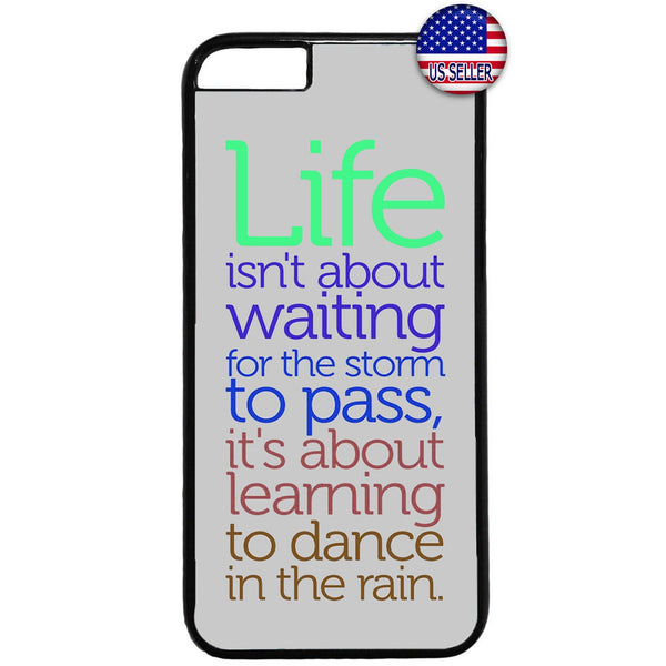 Life Dance In The Rain Rubber Case Cover For Iphone