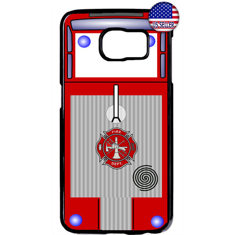 Fire Department Truck Firefighter Rubber Case Cover For Samsung Galaxy Note