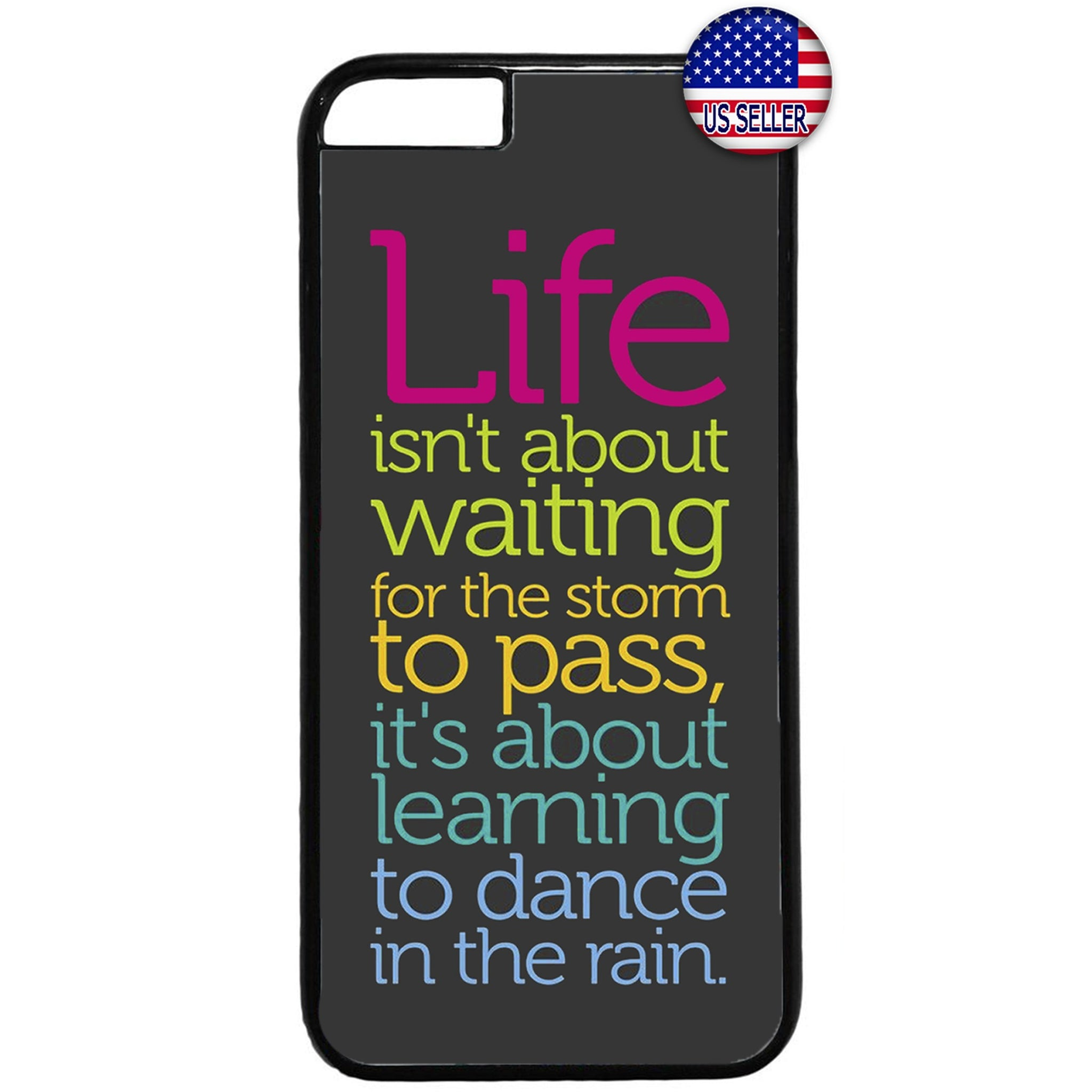Dance In The Rain Rubber Case Cover For Iphone